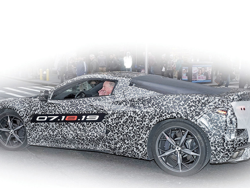 GM's next-generation, midengine Corvette to tour U.S. dealerships