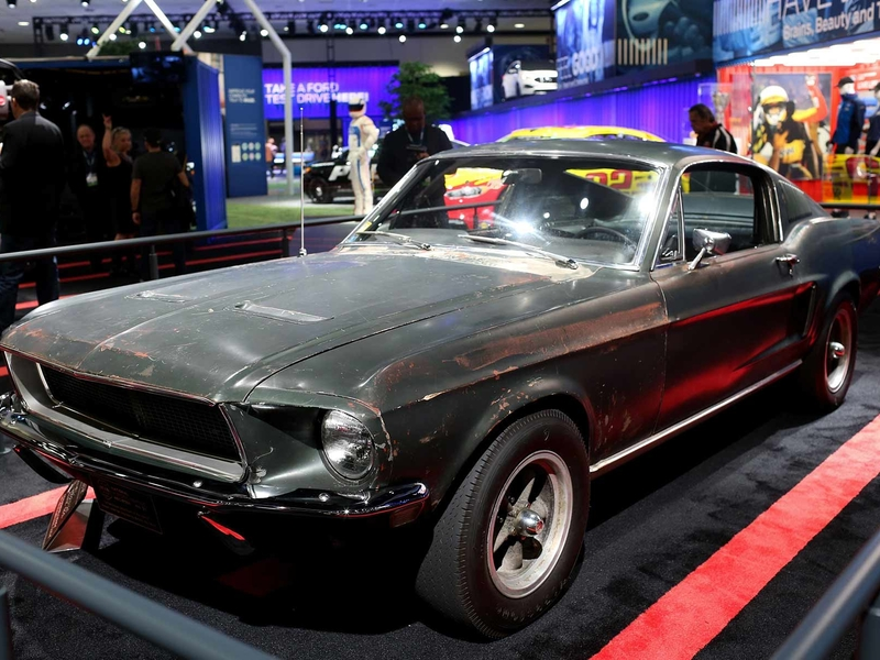 The Mona Lisa of Mustangs revs up for auction block