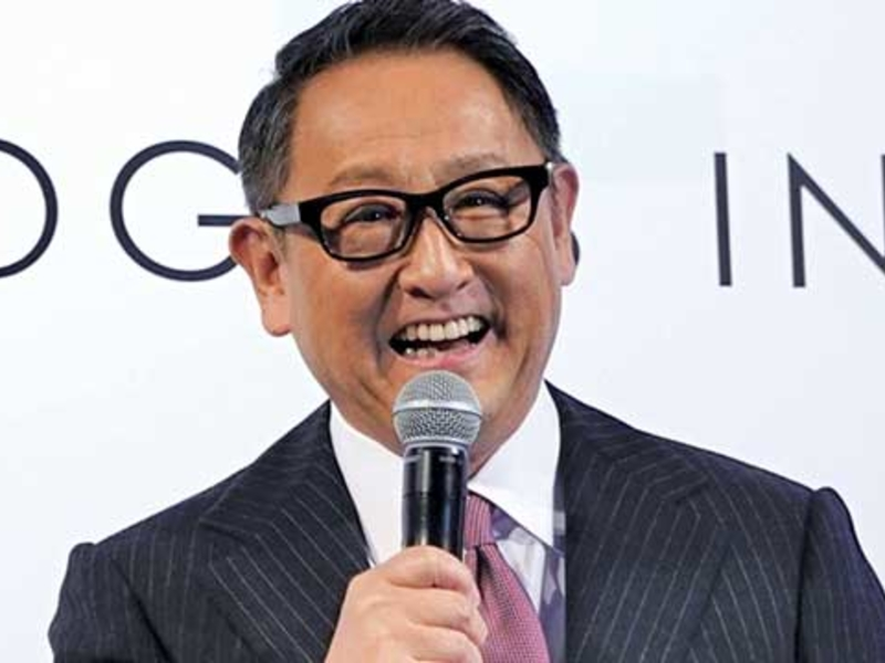 Akio Toyoda's advice: Don't worry, be happy