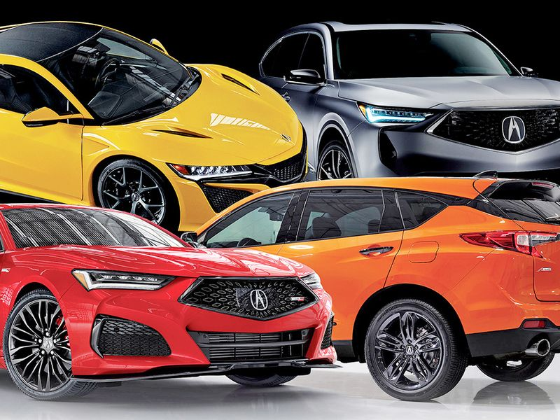 Acura pushes upmarket with redesigns that focus on performance
