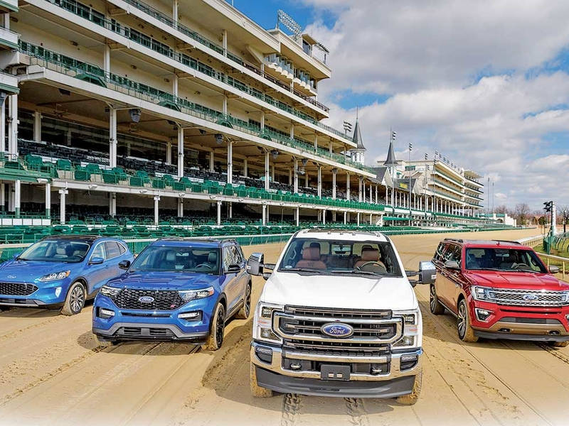 Ford gives Kentucky Derby more horsepower than usual