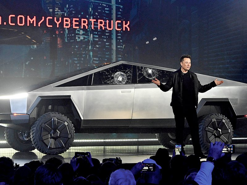 Tesla's Cybertruck unveiling shatters everyone's expectations