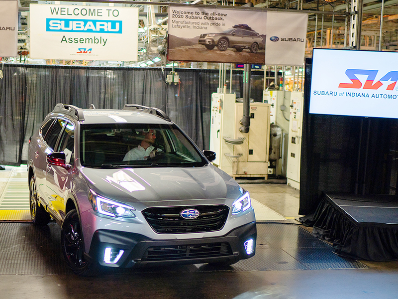 With '19 Outback selling well, Subaru taking time with '20 model