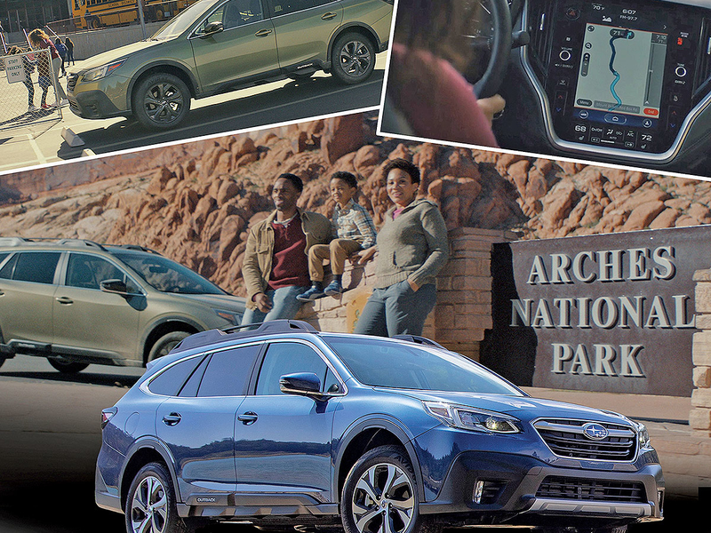 Redesigned Outback gives Subaru something to talk about: the interior