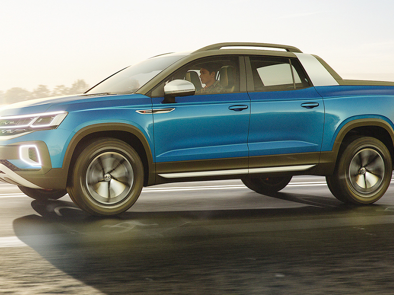 VW will have a pickup strategy, and it may be to go where others aren't