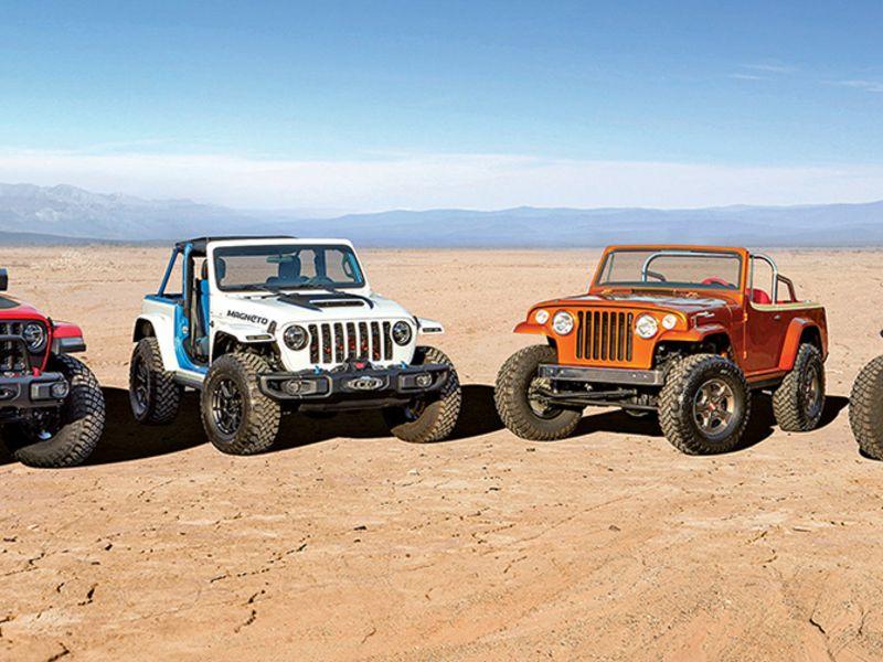 Jeep brings taste of the electric to Moab safari thumbnail