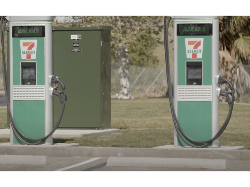 7-Eleven to install EV fast chargers at 250 N.A. stores thumbnail