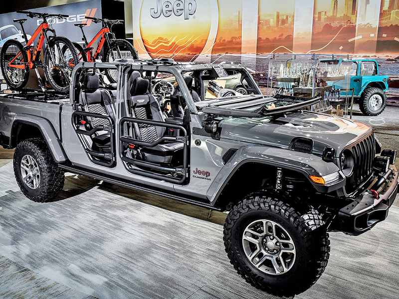 Jeep Gladiator: FCA's new accessories king