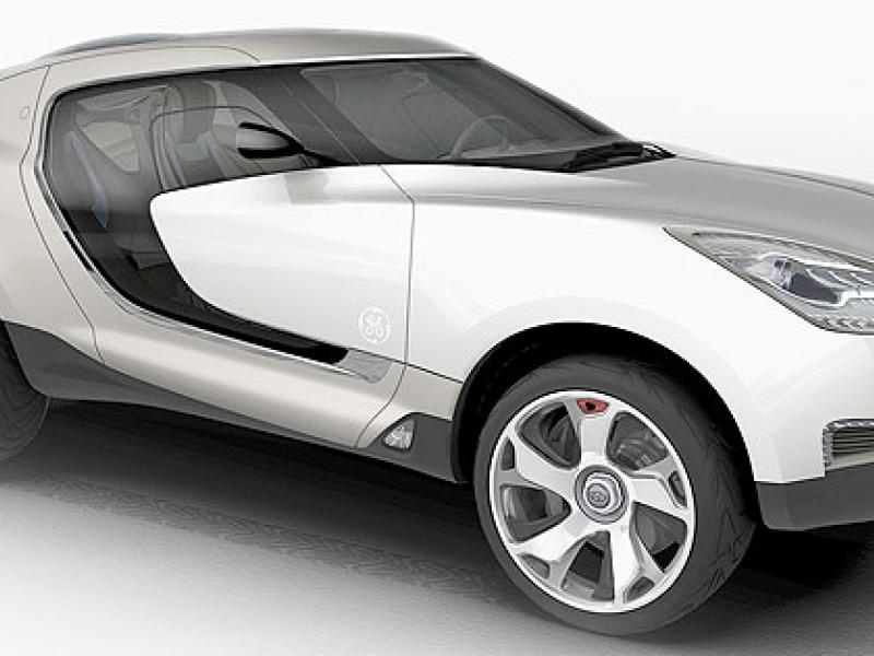 Plastics supplier Sabic touts materials on concept car
