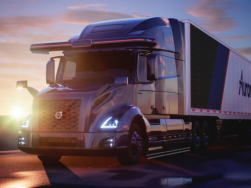 Aurora, Volvo Group join forces on self-driving trucks thumbnail