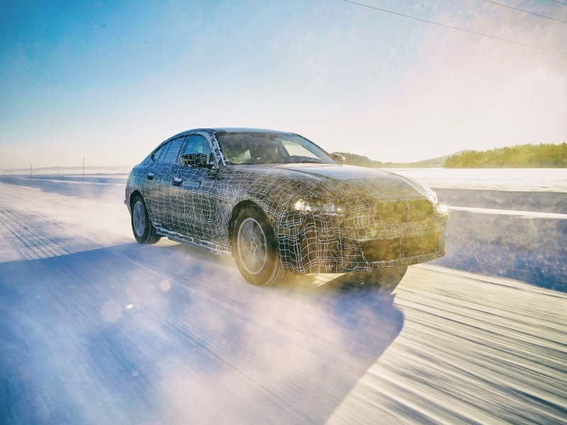 BMW tests cold weather reliability of its Tesla Model 3 fighter