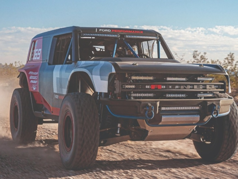 Ford Motor Co. courts Bronco buyers through race sponsorships