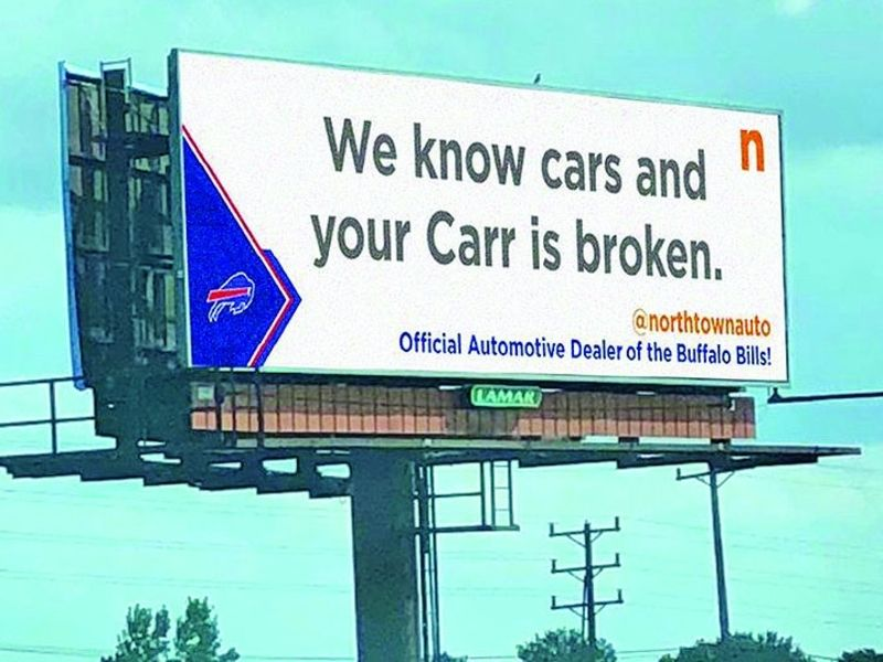 Northtown Automotive dealerships make marketing hay from Buffalo Bills' season