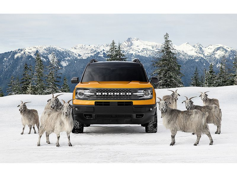 Ford Bronco Sport campaign launches with goat ad in NFL game
