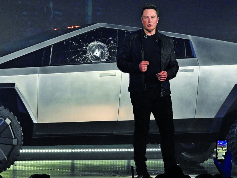 Tesla's shirt is as bulletproof as the windows