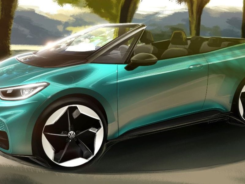 VW mulls electric convertible based on ID3