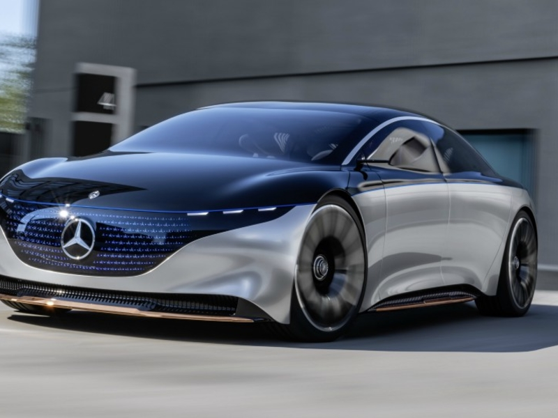Vision EQS previews Mercedes' electric, self-driving vision