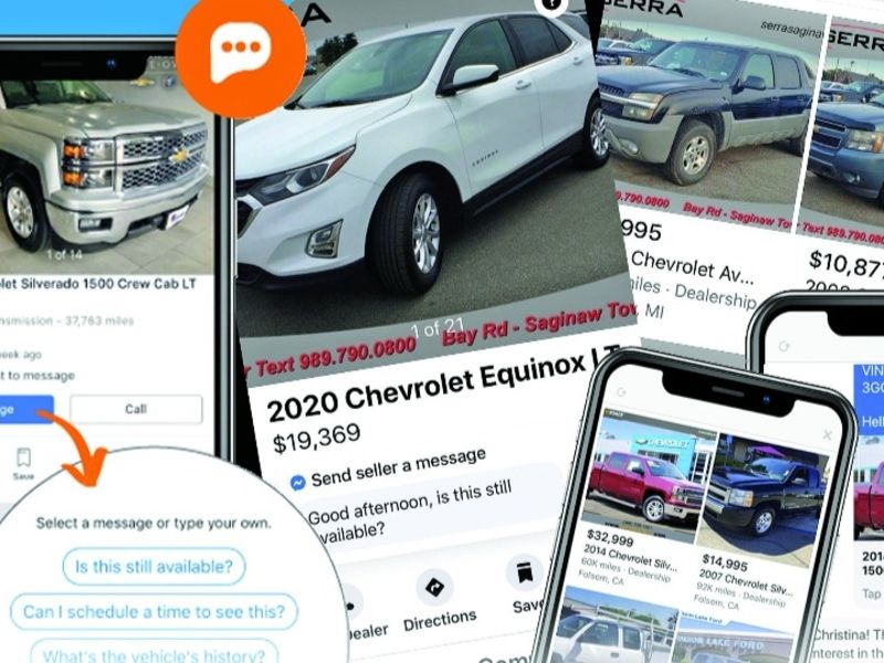 Used-vehicle dealers tap Facebook Marketplace for sales leads