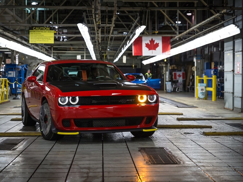 FCA to idle pair of Ontario assembly plants for 2 weeks each in April
