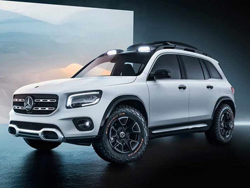 Mercedes goes boxy with 'Baby G-Wagen' GLB concept