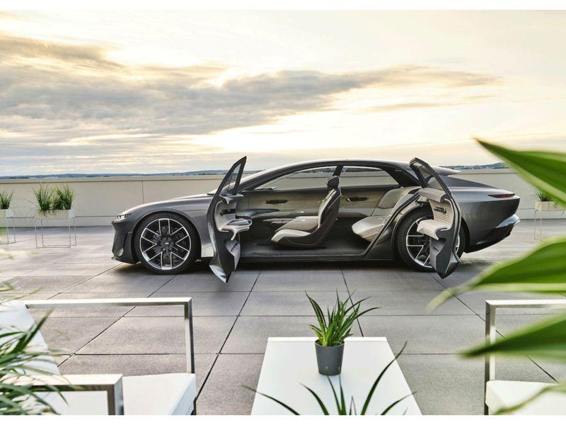Audi's Grandsphere concept envisions autonomous vehicle as living room thumbnail
