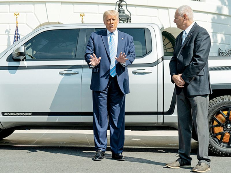 Lordstown Motors says CEO, CFO resign