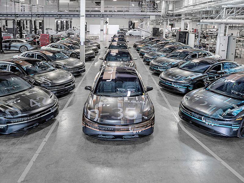 Intelligence report: Lucid Motors