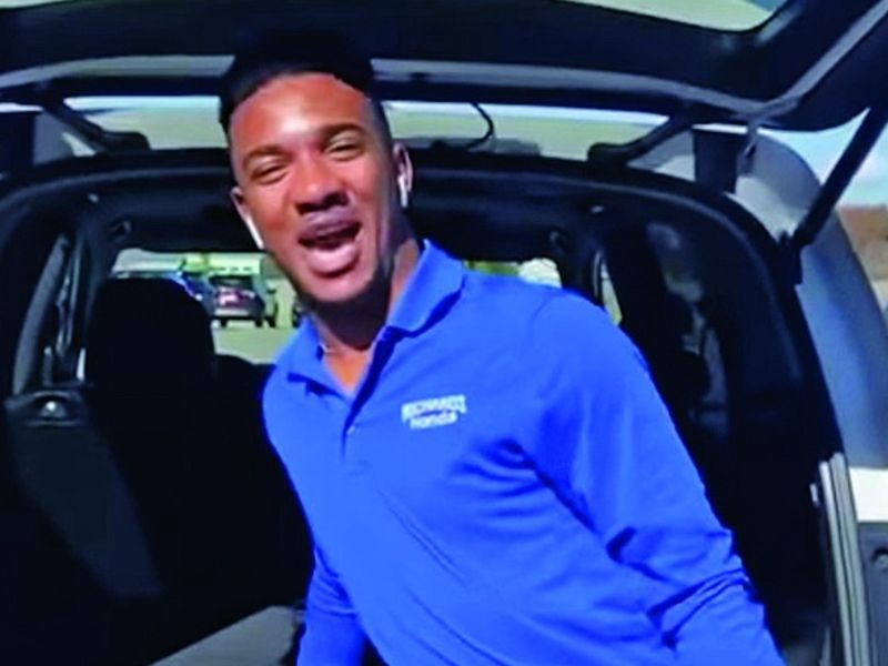 Honda salesman makes promotional video that goes viral