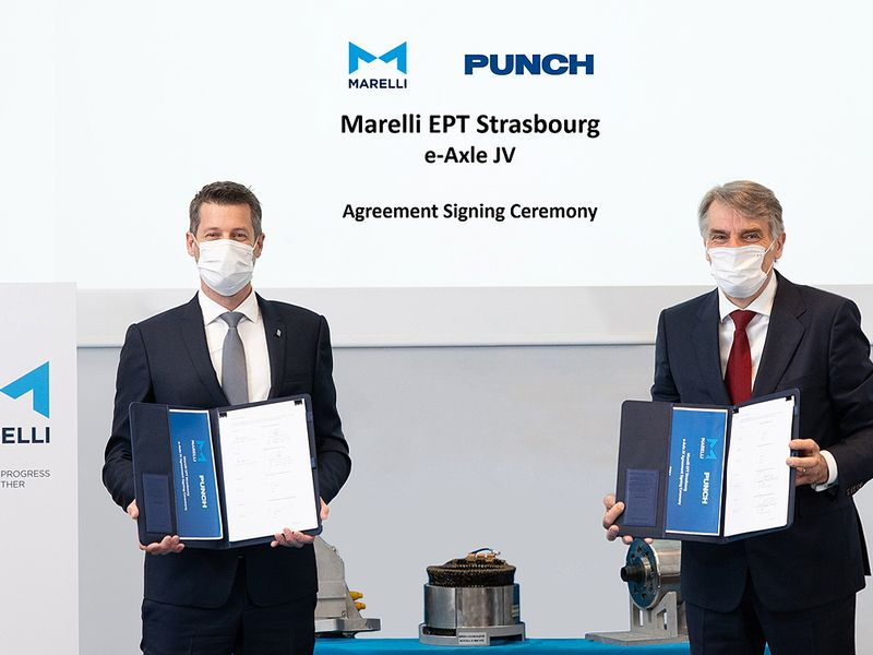 Marelli forms e-axle JV with supplier Punch thumbnail