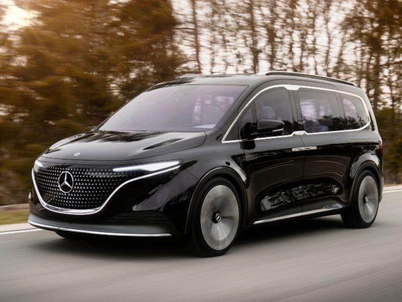 Mercedes offers sneak peek at electric van thumbnail