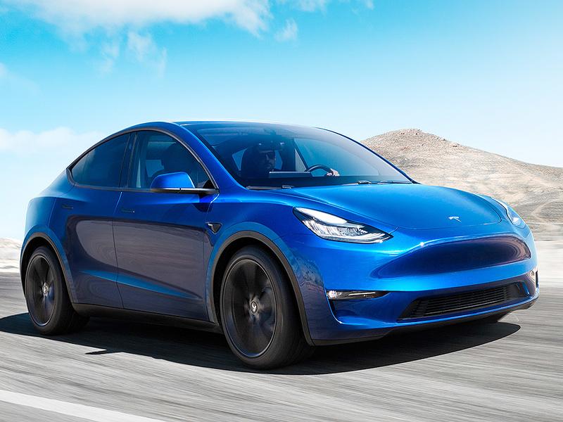 Tesla Unveils Model Y As Electric Vehicle Race Heats Up