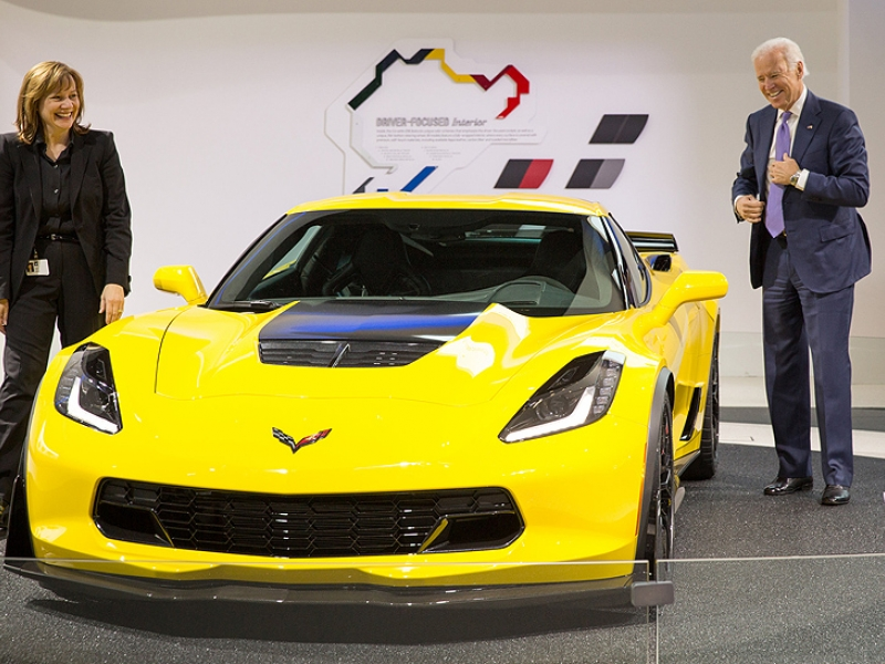 Biden says U.S. bet on auto industry paid off