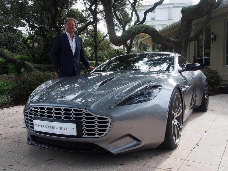 Henrik Fisker Aston Martin Settle Suit Over Thunderbolt Design