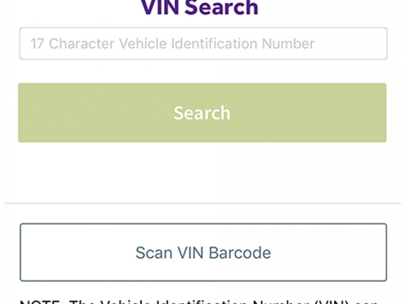 Cars com adds VIN scanning to app