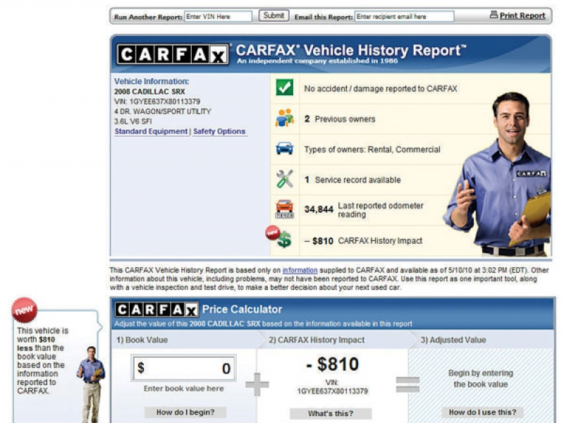 Dealers Are Upset By Carfax Price Data