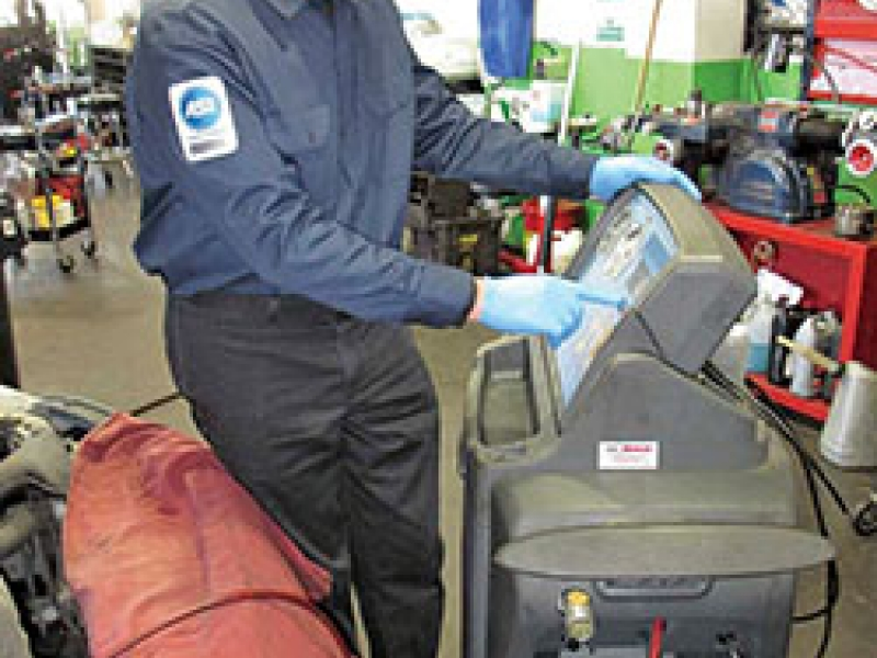 Dealerships Rush For Refrigerant Certification
