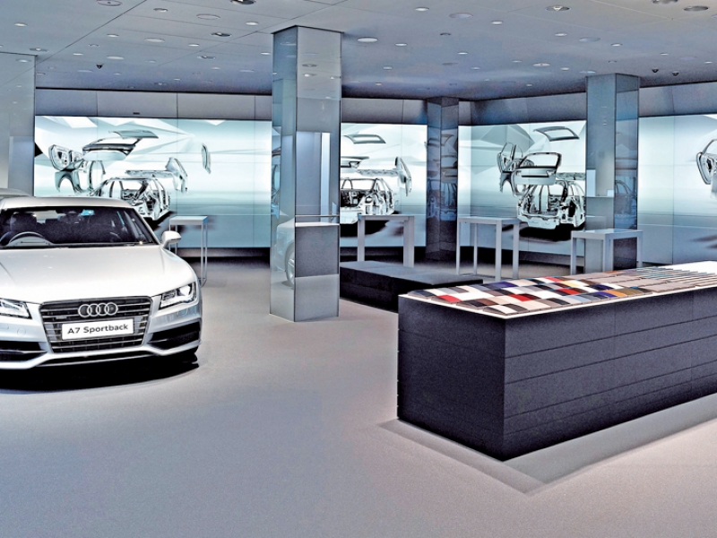 Audi Makes London Showroom A Tech Rich Showpiece For The Brand