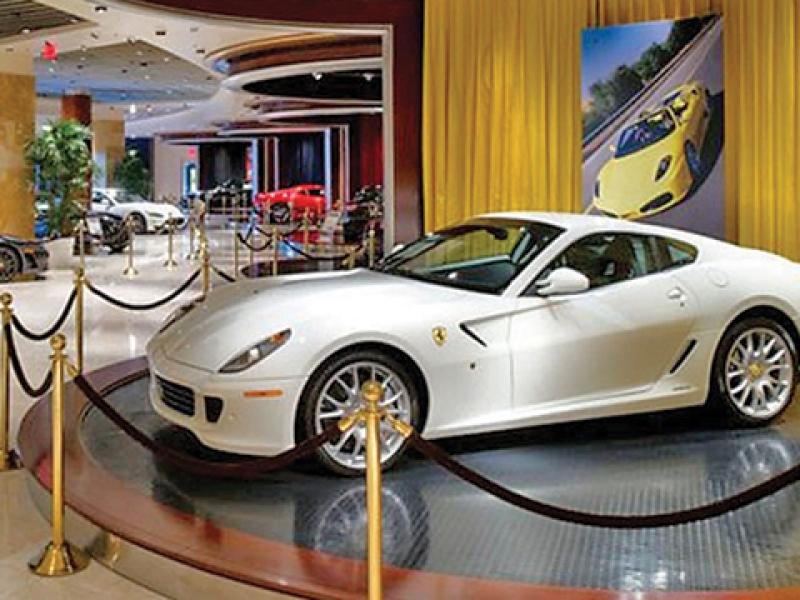 Ferrari Maserati Casino Dealership Reopens In Downtown Las Vegas
