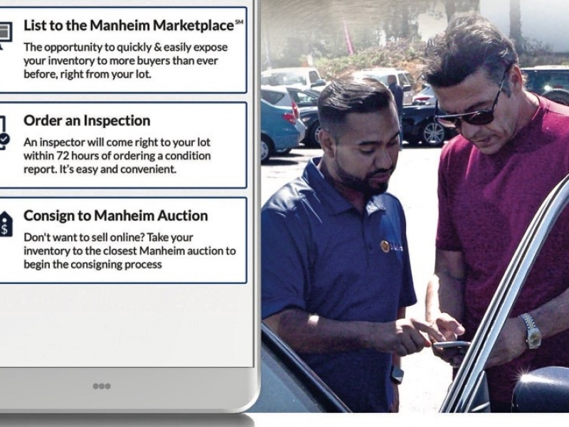 Concierges to help auction giant Manheim with sales ap