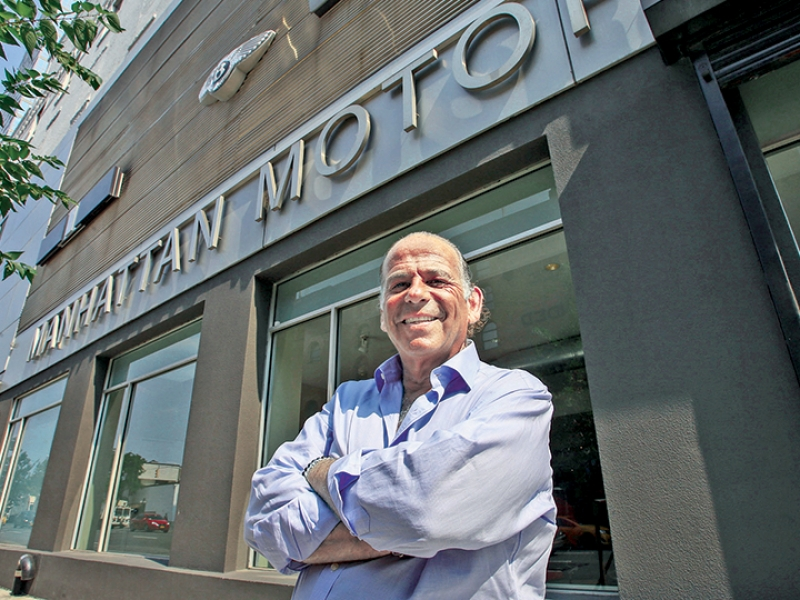 NYC's Brian Miller sells superluxury cars, hands-on service