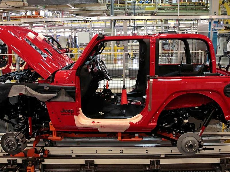 FCA cancels summer shutdowns at several N.A. plants