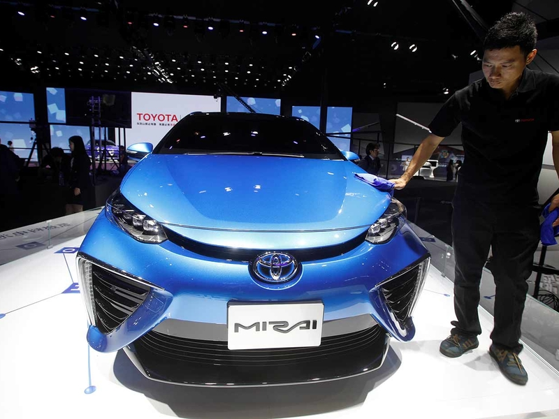 Why Asia S Biggest Economies Are Backing Hydrogen Fuel Cell Cars