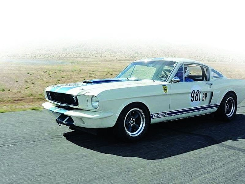 1965 Mustang Shelby GT350 wins Ford's version of March Madness