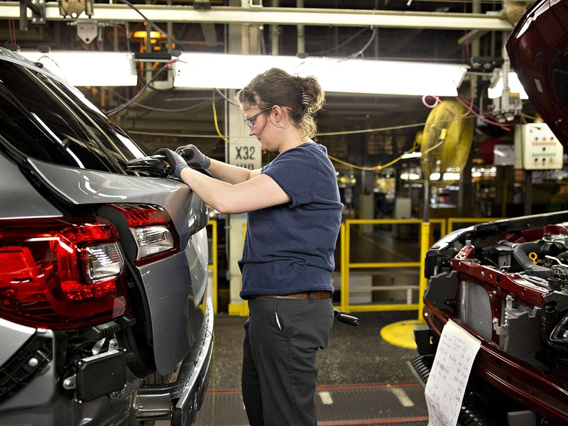 Subaru to furlough workers at Ind. plant for one week