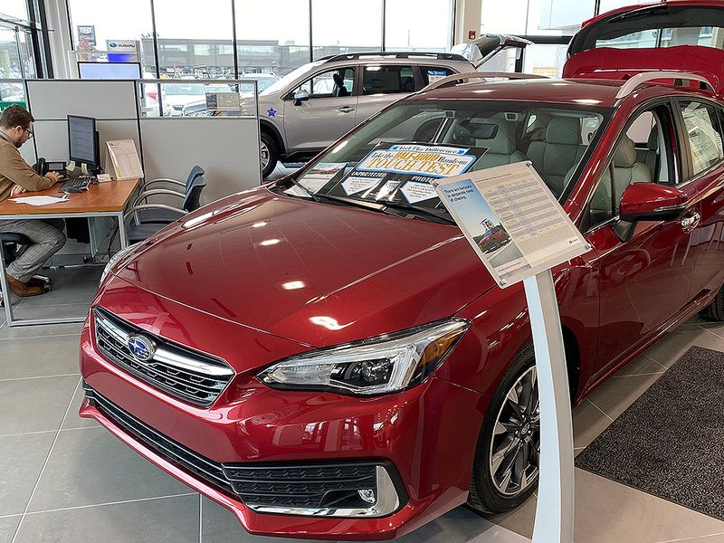 Subaru to switch to quarterly U.S. sales reports
