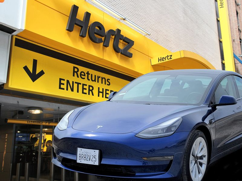 The massive upside appeal for EVs in the Tesla-Hertz blockbuster deal
