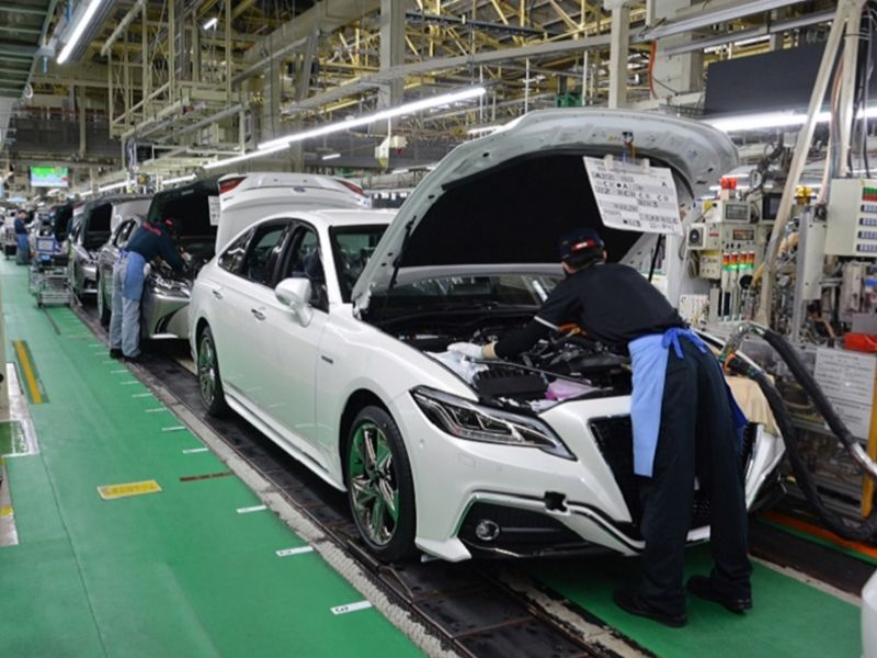 Toyota cuts output again on shortage of chips, parts