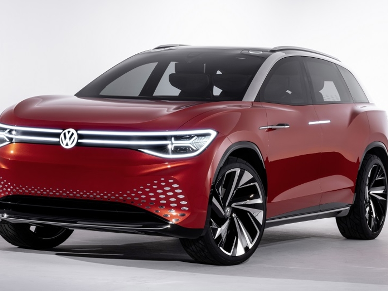 VW plans large electric crossover