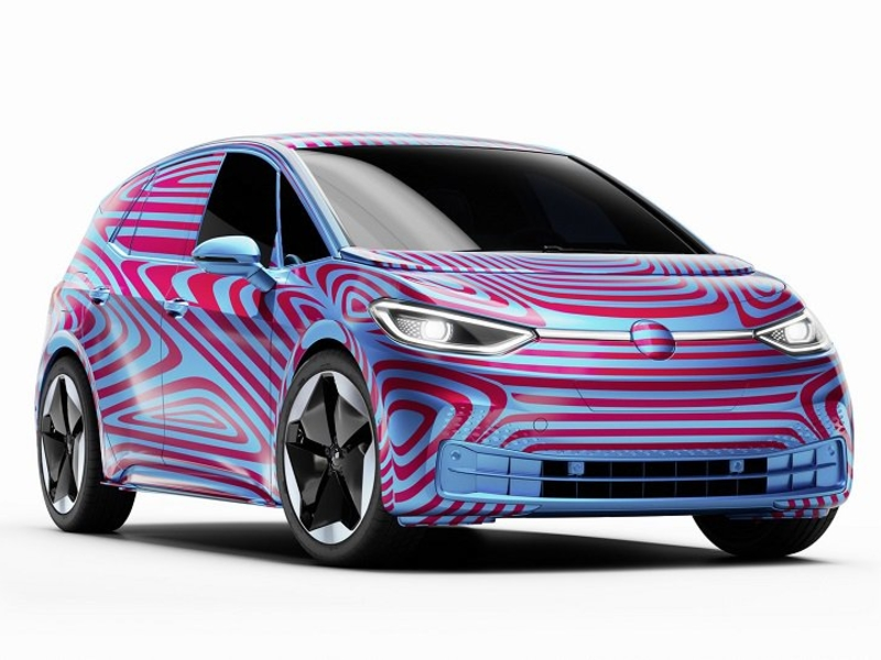 VW reveals name, pricing of ID3 electric hatchback in Europe