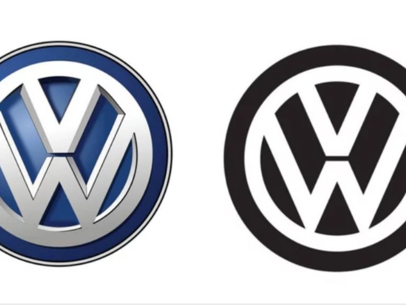 Volkswagen will reveal a new logo at the Frankfurt motor show